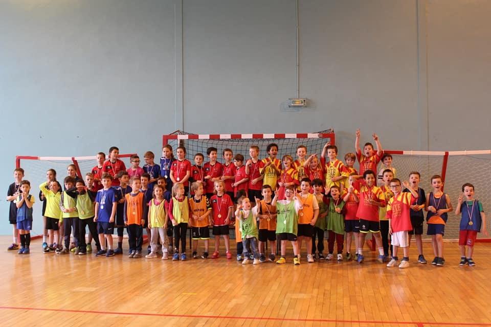 Handball Calendrier.Equipe Ecole De Handball Mini Hand Association Barentin